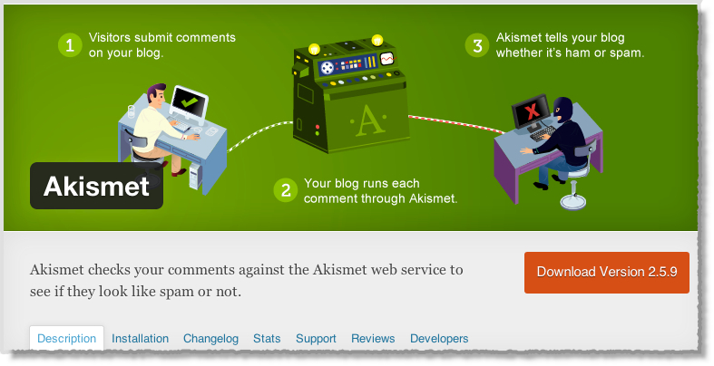 Top-10-WordPress-Plugins-Akismet