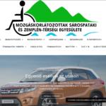 Mozgáskorlátozottak Sárospataki és Zemplén - Térségi Egyesülete - Új weboldal készítése 2018